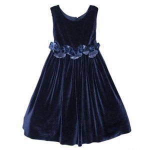 NWT ISABEL GARRETON Holiday Velvet Girls Dress